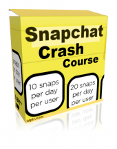Snapchat Crash Course Private Label Rights