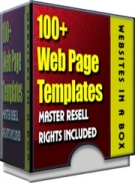 100+ WebPage Templates Private Label Rights