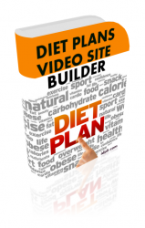 Diet Plans Video Site Builder Private Label Rights