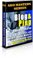 Blog & Ping Master Course Private Label Rights