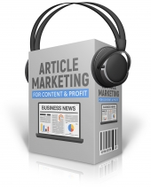 Article Marketing For Content And Profit Private Label Rights