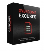 Overcome Excuses GOLD Private Label Rights