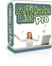 Affiliate List Pro Private Label Rights