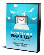 Manage Your List With Aweber Private Label Rights