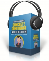 Concrete Confidence Affirmation Private Label Rights