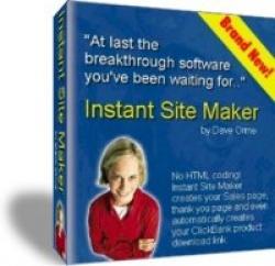 Instant Site Maker