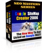 Google Site Map Creator 2006 Private Label Rights