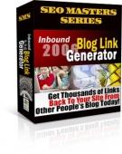 Inbound Blog Link Generator 2006 Private Label Rights