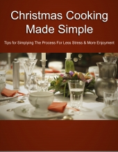 Christmas Cooking Made Simple Private Label Rights