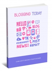 Blogging Today Private Label Rights
