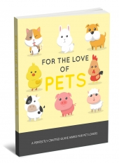 For The Love Of Pets Private Label Rights