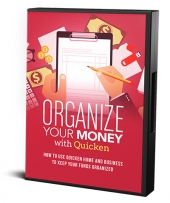 Organize Your Money With Quicken Private Label Rights