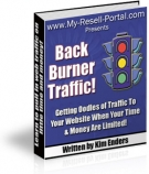 Back Burner Traffic! Private Label Rights
