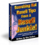 Scorching Hot Resell Tips From A Resell Junkie! Private Label Rights