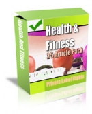 Private Label Article Pack : Health Articles Private Label Rights