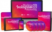 Modern Instagram Marketing Video Upgrade Private Label Rights