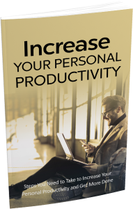 Increase Your Personal Productivity - Private Label Rights