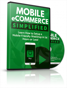 Mobile eCommerce Simplified - Private Label Rights