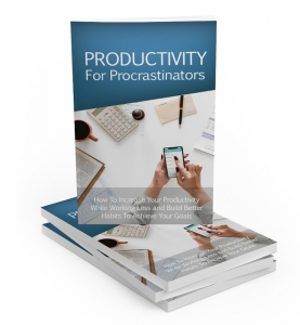 Productivity For Procrastinators - Private Label Rights