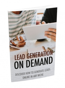 Lead Generation On Demand - Private Label Rights