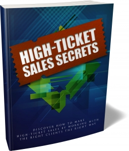 High Ticket Sales Secrets - Private Label Rights