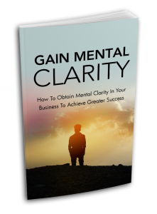 Gain Mental Clarity - Private Label Rights