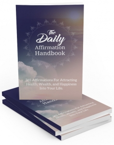 The Daily Affirmation Handbook - Private Label Rights