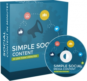 Simple Social Media Content - Private Label Rights
