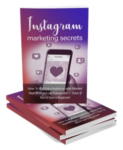 Instagram Marketing Secrets Private Label Rights