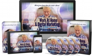 Work At Home & Digital Marketing For Seniors Video Upgrade - Private Label Rights