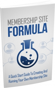 Membership Site Formula - Private Label Rights
