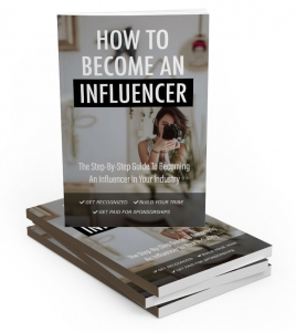 How To Become An Influencer - Private Label Rights