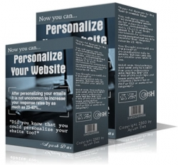 Personalize Your Website