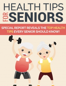 Health Tips For Seniors - Private Label Rights