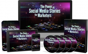 The Power of Social Media Stories for Marketers Video Upgrade - Private Label Rights