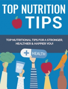 Top Nutrition Tips - Private Label Rights