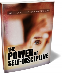 The Power Of Self-Discipline - Private Label Rights