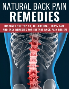 Natural Back Pain Remedies - Private Label Rights