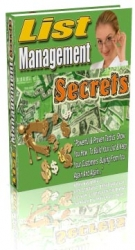 List Management Secrets Private Label Rights