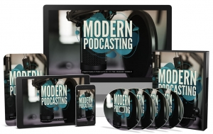 Modern Podcasting Video Upgrade - Private Label Rights