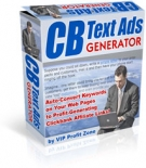 CB Text Ads Generator Private Label Rights