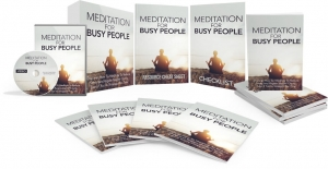 Meditation For Busy People Video Upgrade - Private Label Rights