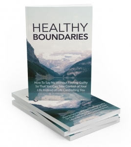 Healthy Boundaries - Private Label Rights