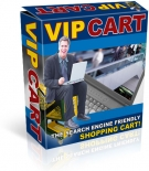 VIP Cart - The Search Engine Friendly Shopping Cart! Private Label Rights