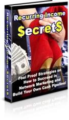 Recurring Income Secrets Private Label Rights