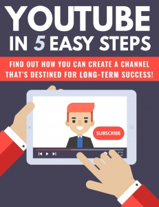 Youtube In 5 Easy Steps Private Label Rights