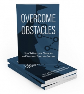 Overcome Obstacles - Private Label Rights