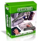 Private Label Article Pack : Computer Articles Private Label Rights