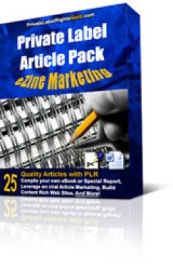 Private Label Article Pack : Ezine Marketing Articles