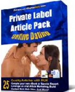 Private Label Article Pack : Online Dating Articles